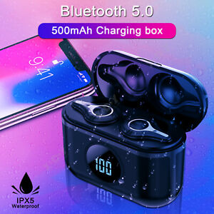 TWS-Bluetooth-5-0-Earbuds-Wireless-Headphones-Earphones-For-iphone-Android-Sony
