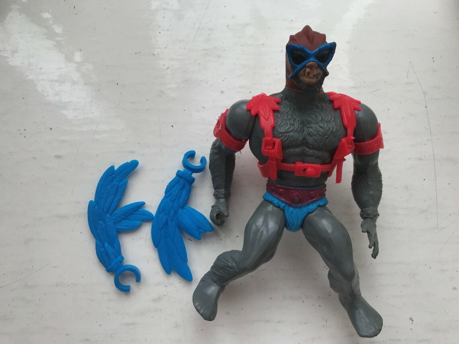 80S ORIGINAL MATTEL HE-MAN MOTU MASTERS OF THE UNIVERSE STRATOS FIGURE COMPLETE