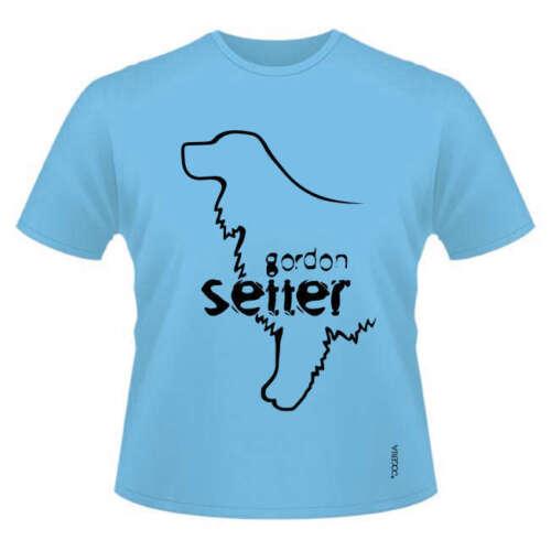 Ladies /& Men/'s sizes Round-Neck Gordon Setter Dog Breed T-Shirts