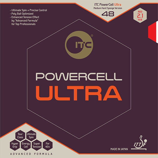 ITC Powercell Ultra 48 Ryu Seung Min Rubber Table Tennis Ping Pong