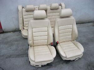 Lederausstattung-Audi-A6-4B-Limousine-Sportsitze-Ausstattung-BEIGE