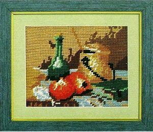 50x75 cm Treuer FreundBild ohne Rahmen NEU Gobelin Textilbild Panel ca