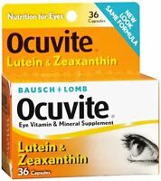 Bausch - Lomb Ocuvite Lutein Capsules 36 Capsules on sale