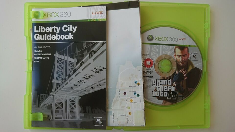 Grand theft auto 4, Xbox 360