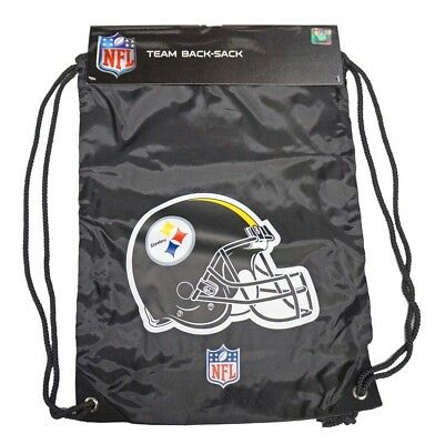 PE Bag NFL Pittsburgh Steelers Back Pack Shoe Bag Gym Bag