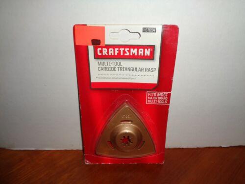 Genuine Craftsman Carbide Triangular Rasp for Multi-Tools 2 Pack 67654