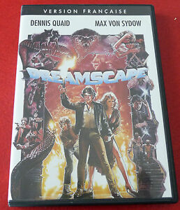 DVD-Movie-Dreamscape-1983-French-Version-Dennis-Quaid-Max-Von-Sydow