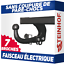 Peugeot-Partner-II-Furgon-Tepee-4628-mm-de-08-Attelage-fixe-faisceau-7-broches miniature 1