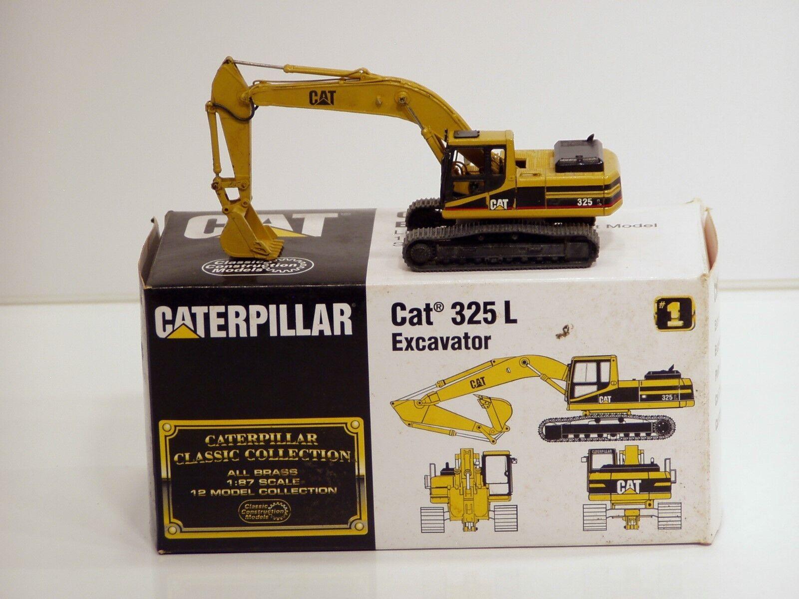 Caterpillar 325 L Pelle - 1 87 - Laiton-ccm