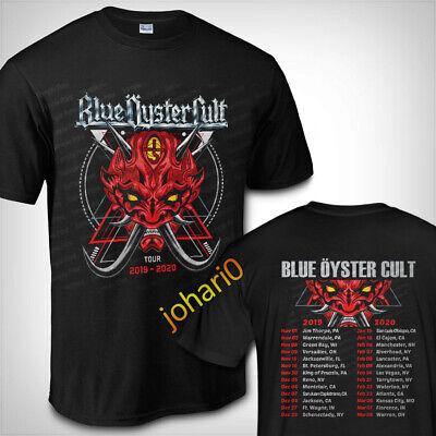 Blue Oyster Cult Tour Dates 2020  BOC T shirt S-3XL MEN/'S