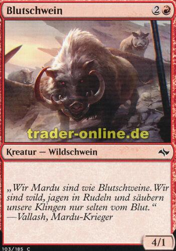 Fate Reforged Magic Gore Swine 4x Blutschwein