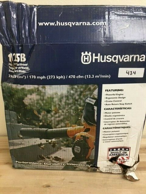 Husqvarna 952711925 28cc 2-Cycle 170-Mph Hand Held Leaf Blower - 125B