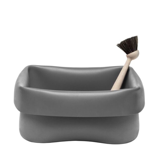 Washing Up Bowl Spülbecken mit Bürste Grau Normann Copenhagen
