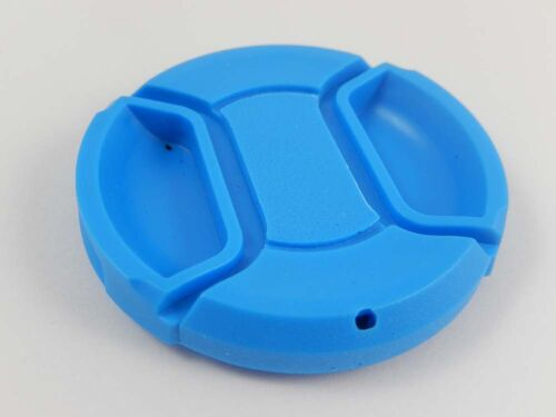 49mm para Sony E 18-55mm 3.5-5.6 OSS azul Tapa del objetivo SEL1855