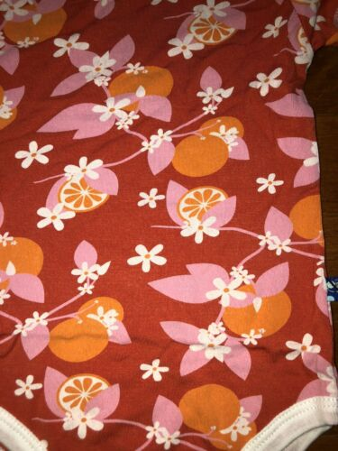 Details about  /Kickee Pants Toddler Girl Poppy Orange One Piece Bodysuit Size 12-18 Months New