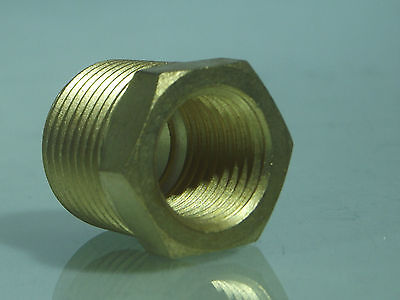 Male BSP - Female NPT BRASS Reducing Bush BSP to American Adapters male-female