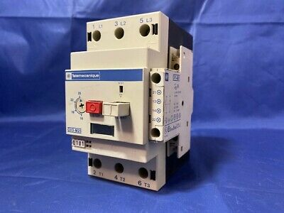 Telemecanique Manual Motor Starter  GV3-M25  w//Auxiliary Contact 6A GV1-A01