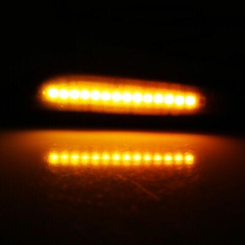 Dynami Smoked LED side indicator turn signal for BMW E90 E91 E92 E60 E87 E82 NEW