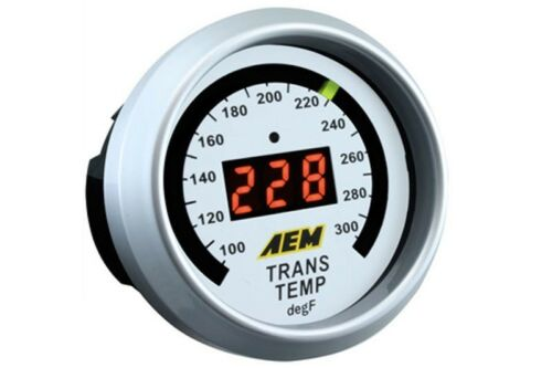 AEM Gauge Kit Digital Trans Temp 100 to 300°F 30-4402