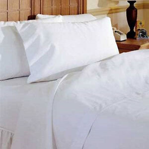 2 new white t180 platinum label pillow cases standard size 20x30