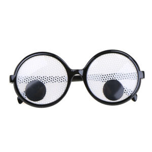 Funny Googly Eyes Goggles Shaking Eyes Party Glasses for Halloween/&Party Deco Cy