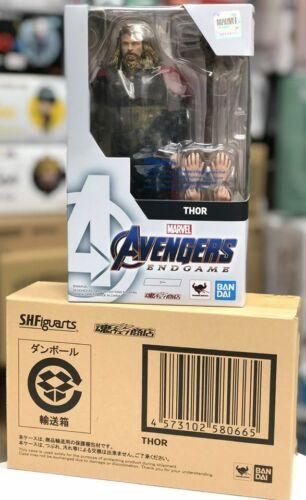 IN STOCK Premium Bandai S.H.Figuarts Marvel Avengers Endgame Thor Figure SH SHF