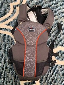 Details About Chicco Ultrasoft Magic Baby Sling Carrier Brown Orange Model 10960 Pre Owned