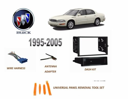 Fits 1995-2005 BUICK PARK AVENUE CAR STEREO INSTALL DASH KIT,Wire Harness