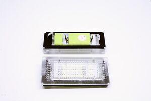 2x-LED-LICENSE-NUMBER-PLATE-LIGHT-BMW-E46-3D-SEDAN-5D-TOURING-CANBUS