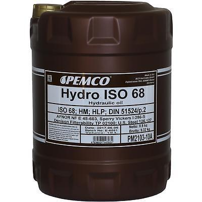 10 Litri Originale Pemco Olio Idraulico Iso 68 Hydro Hlp 68 Oil Design Moderno