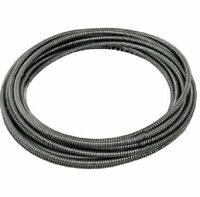 General Wire Flexicore Drain Cleaning Pipe Replacement Cable 50' X 1/4 50he1