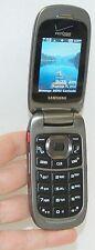 Samsung SCH-U660 Convoy 2 GRAY Verizon Wireless Flip Cell Phone Rugged Camera -B