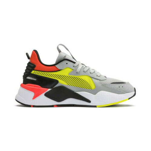 Puma RS-X Hard Drive Grey Yellow Men Limited Edition New Lifestyle 369818-01
