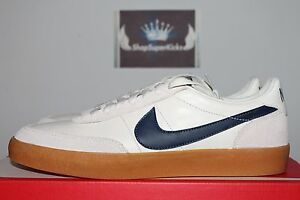 low priced 6e22f 36d78 Image is loading Nike-x-J-Crew-Killshot-2-Leather-Sail-Midnight-