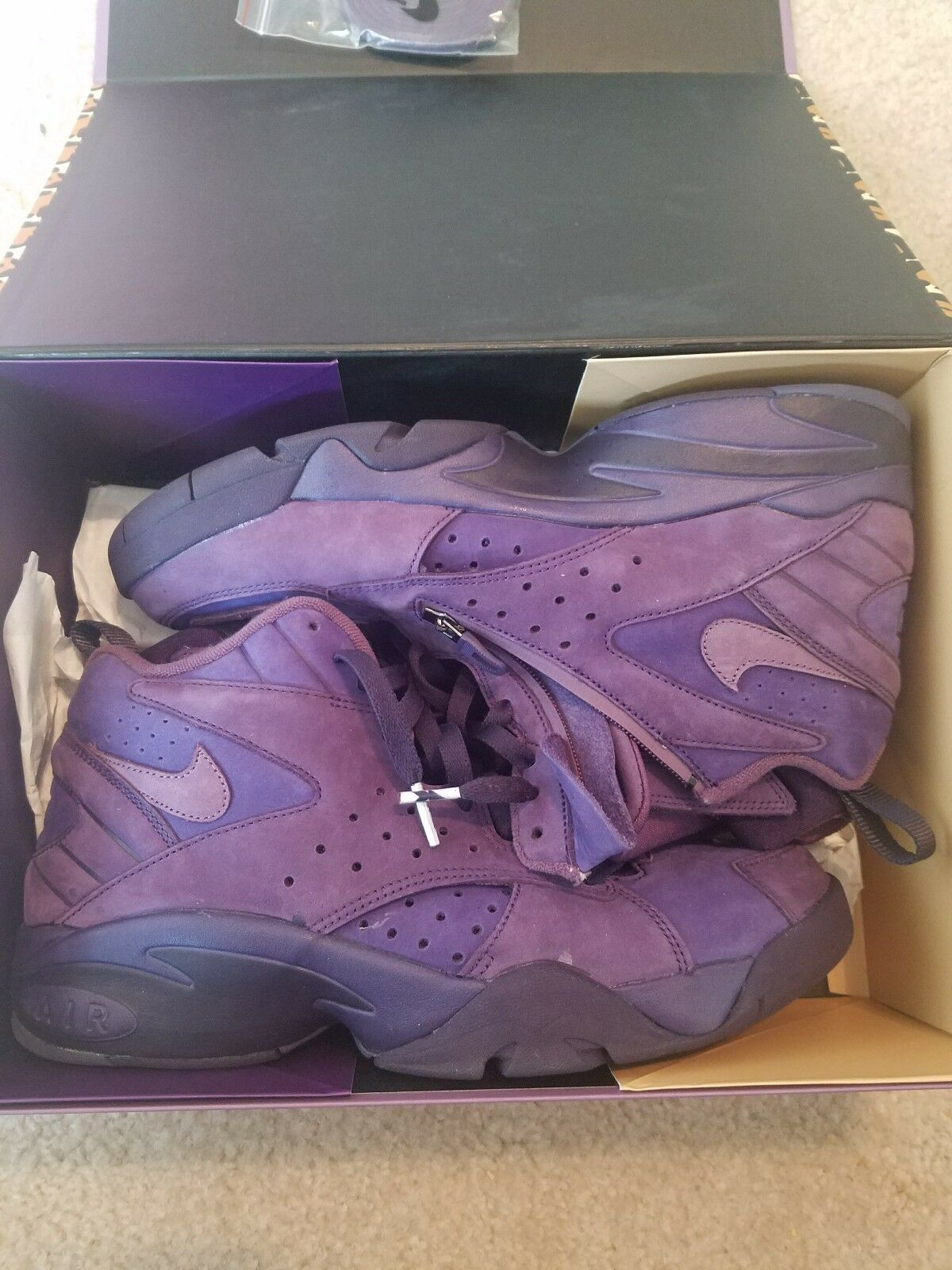 b1af3b1164 KITH x Nike Air Purple Maestro 2 High Retro Scottie Pippen NKAH1069-500  Size 9.5