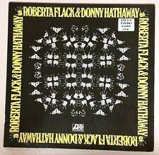 Roberta Flack Donny Hathaway (1972 Import LP Vinyl Cleaned Playtested ATL40380)