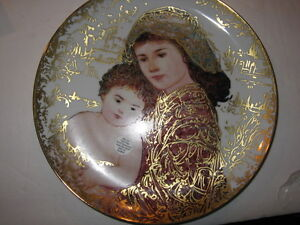 And-Unto-Us-a-Child-is-Given-plate-by-Edna-Hibel