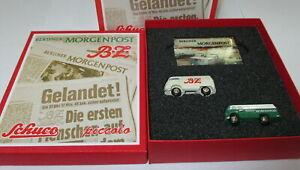 Schuco-Piccolo-05215-Jeu-034-Berliner-Morgenpost-Berliner-Zeitung-034-Neuf-Scelle
