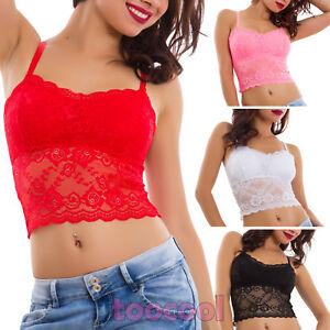 Top-donna-pizzo-reggiseno-bralette-pizzo-ricamo-sexy-lingerie-nuovo-5185