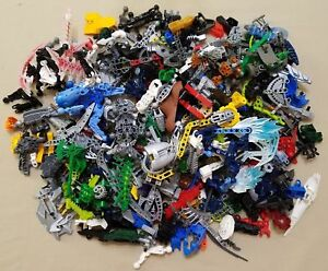 Bulk-Lot-of-Assorted-LEGO-Bionicle-amp-Hero-Factory-Parts-amp-Pieces-by-the-2-Pounds