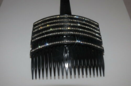 1 New Gorgeous Hair Comb with Shinny Crystals Hair Jewelry Accessories US Seller