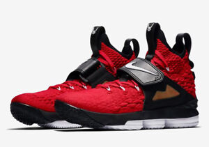 pretty nice 90f0f 4229d Details about Nike LeBron 15 XV Red Diamond Turf Prime Deion Sanders Size  14. AO9144-600