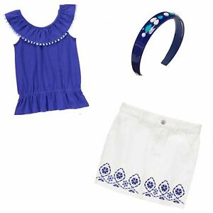 Skirt /& PT Holder NWT 4 5 6 Gymboree Bright /& Beachy 3 pc Sets-Top /& Shorts
