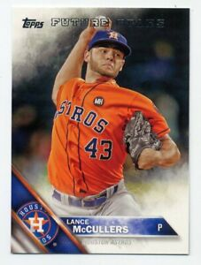 2016-Topps-LANCE-McCULLERS-Future-Stars-SUBSET-CARD-563-Houston-Astros-RARE