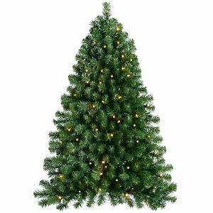 4ft (1.2m) Pre-Lit Wall Mounted Christmas Tree with 80 Warm White LED Lights eBay