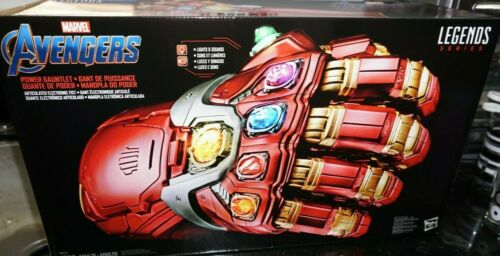 Marvel Legends Endgame IRON MAN ELECTRONIC INFINITY NANO POWER GAUNTLET IN STOCK