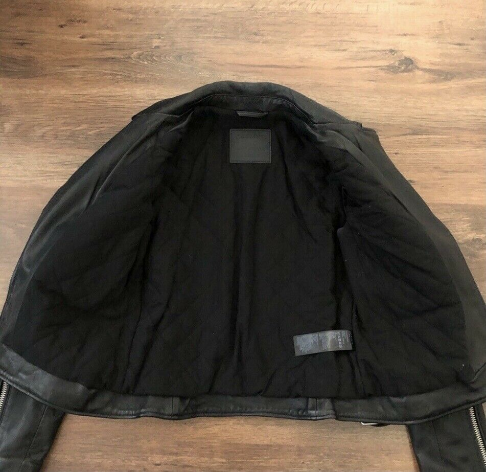 ALL SAINTS Quilted Leather Jacket - image 3