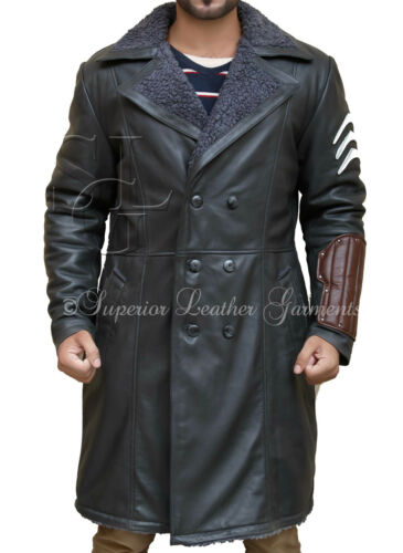 Suicide Squad Jai Courtney Captain Boomerang Genuine Leather Coat