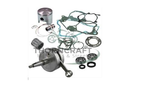 HONDA CR 85 03-04 FULL ENGINE REBUILD KIT CRANK PISTON C MAINS GASKET /&SEAL CR85