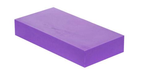 "2/"" x 6/"" x 6/"" HDPE Plastic Block"